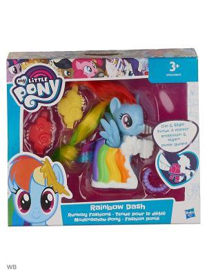 Пони-модницы My Little Pony. Цвет: бордовый, серо-голубой