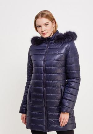 Куртка утепленная SK House. Цвет: синий