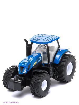 Трактор SIKU. Цвет: синий, черный