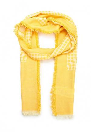 Палантин Fiorella Rubino. Цвет: желтый