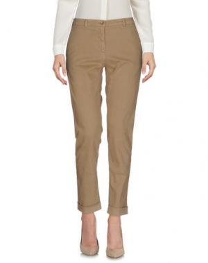 Повседневные брюки 19.70 NINETEEN SEVENTY. Цвет: хаки