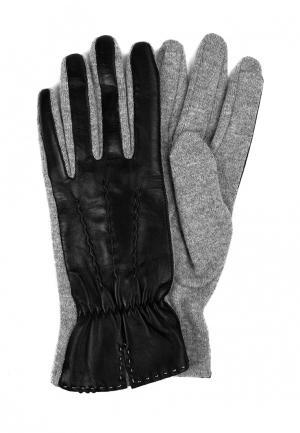 Перчатки Marco Bonne`. Цвет: серый