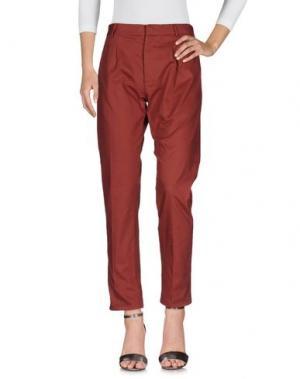 Джинсовые брюки SOHO DE LUXE. Цвет: кирпично-красный