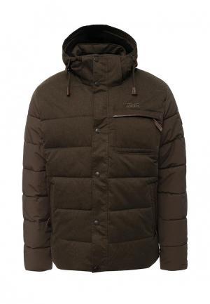 Куртка утепленная Tenson. Цвет: хаки