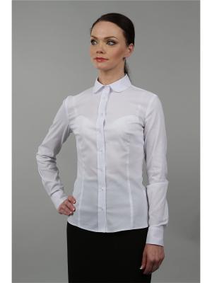 Блузка BLAUZ. Цвет: белый