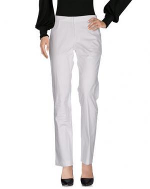 Повседневные брюки GUNEX. Цвет: белый