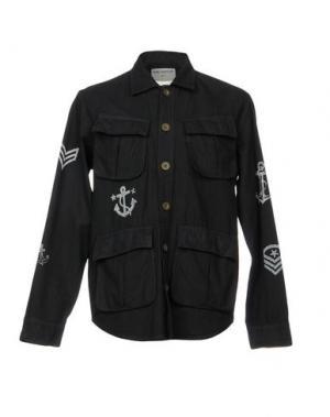 Куртка THE EDITOR. Цвет: темно-синий