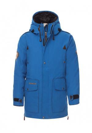 Куртка Bask. Цвет: голубой