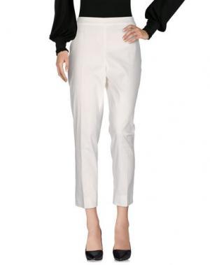 Повседневные брюки SEKLI. Цвет: слоновая кость
