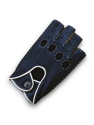 Перчатки женские ESMEE. Цвет: темно-синий