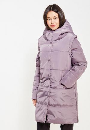 Куртка утепленная DuckyStyle. Цвет: фиолетовый
