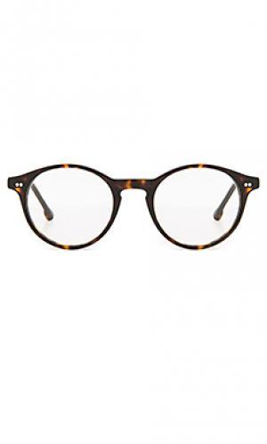 Очки leonard Steven Alan. Цвет: коричневый