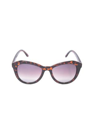 Солнцезащитные очки Mitya Veselkov. Цвет: коричневый