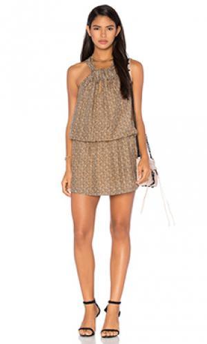 Платье adelia NUE 19.04. Цвет: коричневый