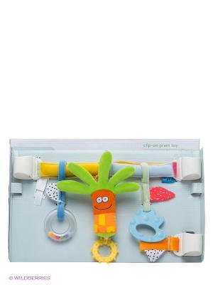 Игрушка Игровой комплекс в коляску TAF TOYS. Цвет: салатовый, оранжевый