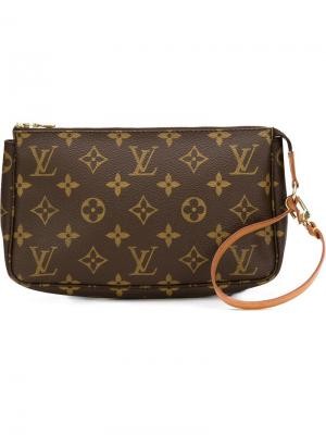 Сумка с монограммным узором Louis Vuitton Vintage. Цвет: коричневый