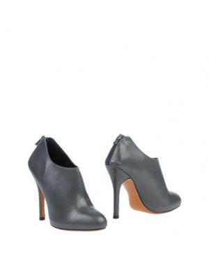 Ботинки LAURÈN. Цвет: свинцово-серый