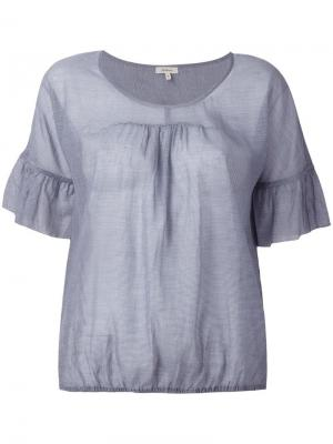 Блузка Harlem Bellerose. Цвет: синий