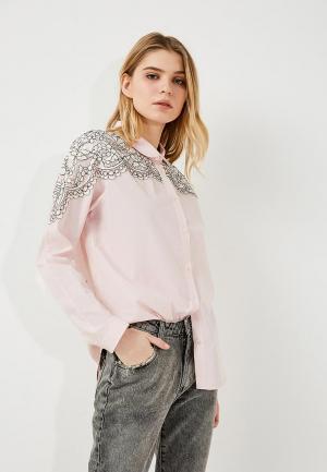 Рубашка Twin-Set Simona Barbieri. Цвет: розовый