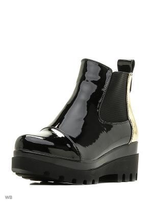 Ботинки NOBBARO. Цвет: черный