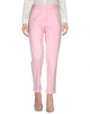 Повседневные брюки NORMALUISA. Цвет: розовый