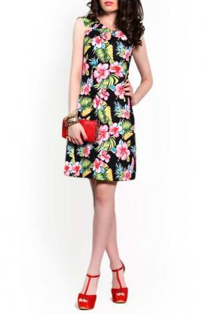 Платье FRANCESCA LUCINI. Цвет: папоротник