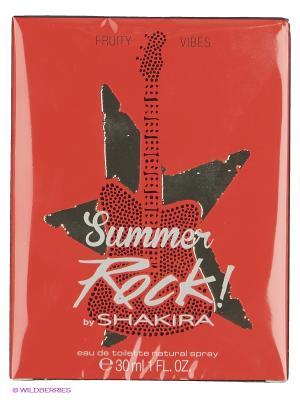 Туалетная вода Shakira Fruity Rock Summer Edition, 30 мл.. Цвет: прозрачный