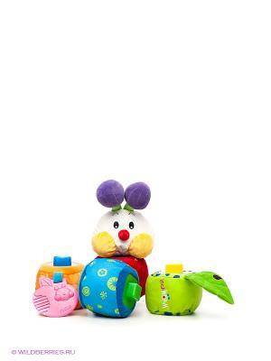 Игрушка-сортер Гусеничка K'S Kids. Цвет: зеленый, розовый, белый, фиолетовый