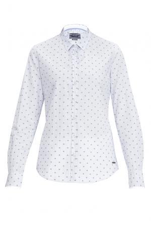 Рубашка из хлопка 170658 Saint James. Цвет: синий
