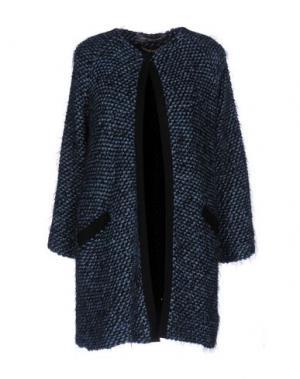 Легкое пальто CARLA MONTANARINI. Цвет: небесно-голубой