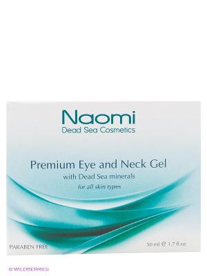 Гель для кожи вокруг глаз и шеи с минералами Мертвого моря Naomi Dead Sea Cosmetics. Цвет: белый