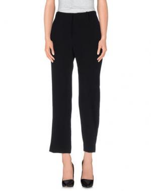Повседневные брюки SIMONA MARTINI. Цвет: черный