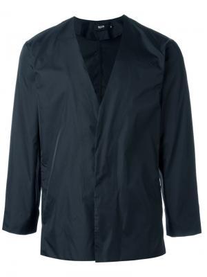 Куртка-ветровка на пуговицах Blood Brother. Цвет: чёрный