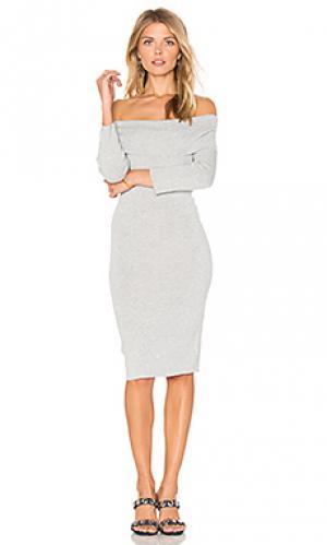 Платье vance cupcakes and cashmere. Цвет: серый