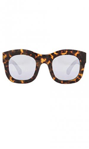 Солнцезащитные очки hamilton illesteva. Цвет: коричневый