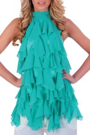 Топ Berry Couture. Цвет: turquoise