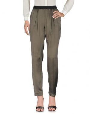 Повседневные брюки MASSIMO REBECCHI. Цвет: зеленый-милитари
