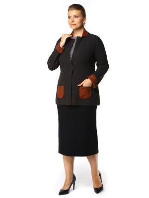 Пиджак SHE'SSO. Цвет: коричневый, оранжевый