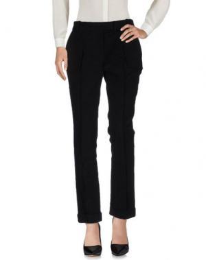 Повседневные брюки GIULIANO FUJIWARA. Цвет: черный