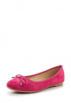 Балетки Diamantique. Цвет: розовый