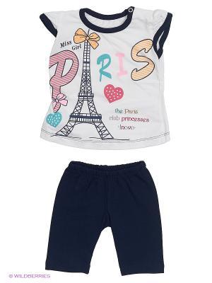 Комплект одежды Babycollection. Цвет: белый