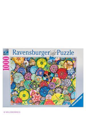 Пазл Разноцветные пуговицы, 1000 шт Ravensburger. Цвет: голубой