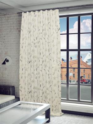 Готовая штора Антия SANPA HOME COLLECTION. Цвет: белый