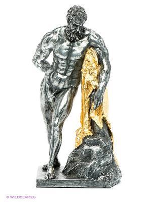 Статуэтка Геркулес Veronese. Цвет: темно-серый, золотистый