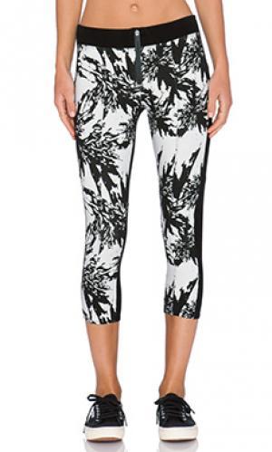 Укороченные брюки slater DWP. Цвет: черный