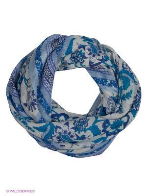 Палантин Labbra. Цвет: белый, голубой, морская волна