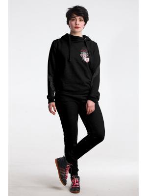 М-755-29 комплект женский (джемпер+брюки) Modno.ru. Цвет: черный
