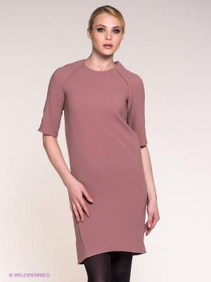 Платье Stefanel. Цвет: светло-коричневый