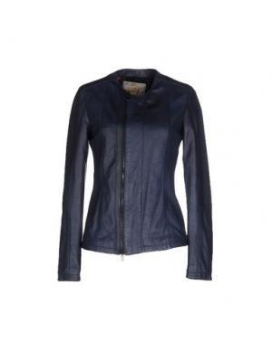 Куртка VINTAGE DE LUXE. Цвет: пастельно-синий