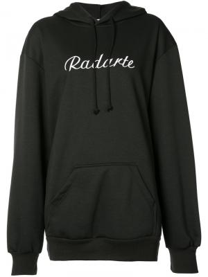 Logo hoodie Rodarte. Цвет: чёрный